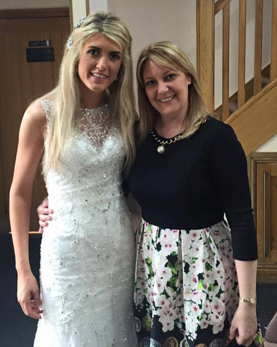 Photo of Lisa with bride