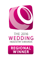Wedding awards badge regional winner
